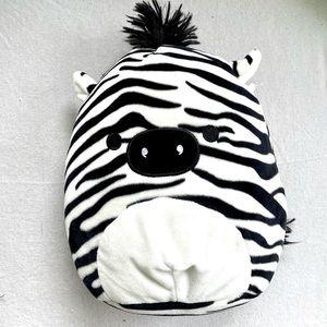 "Squishmallow Kellytoy Freddie The Zebra 8"" Plush"